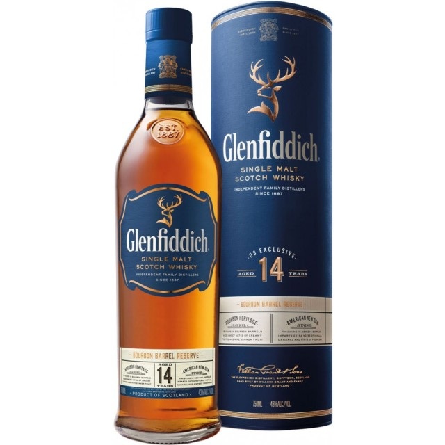 Glenfiddich 14 Bourbon Barrel