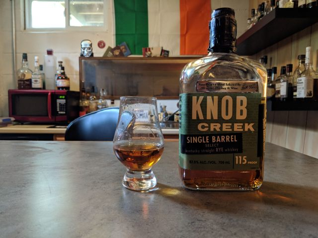 Knob Creek Single Barrel Rye