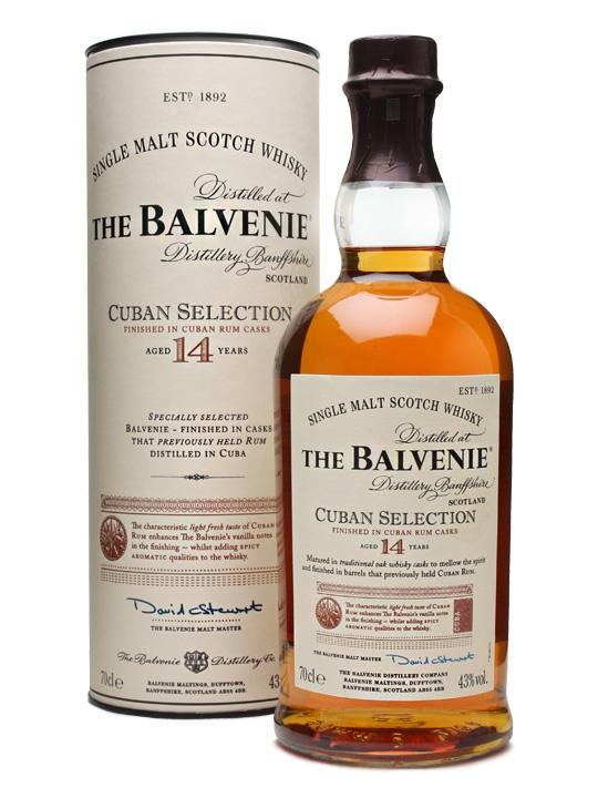 Balvenie 14 Cuban Selection