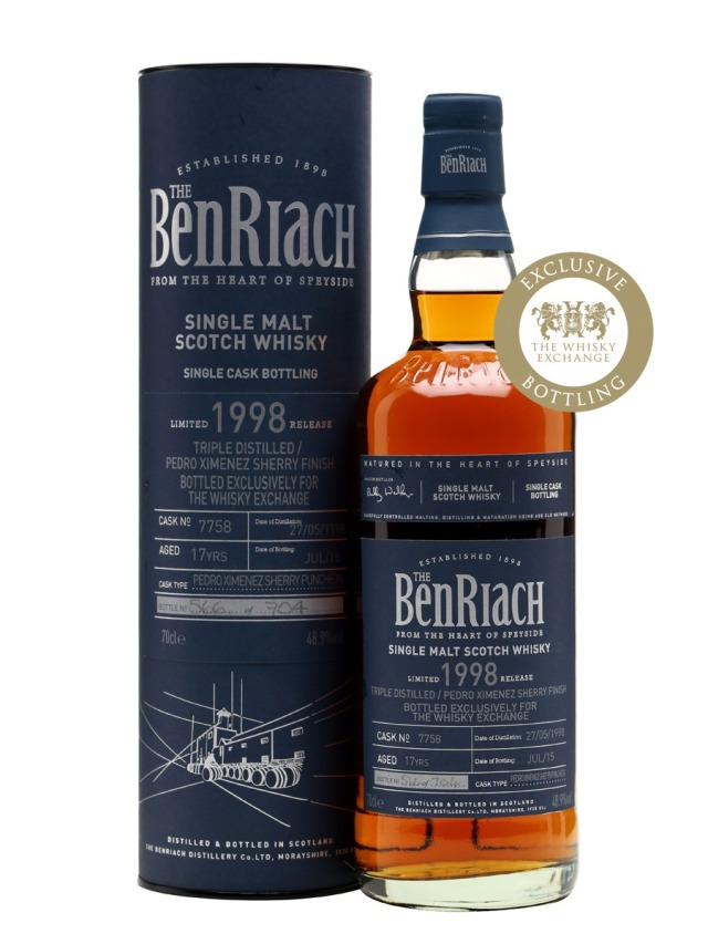 BenRiach 17 1998 PX Finish TWE Exclusive