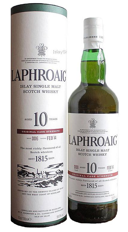 Laphroaig 10 CS