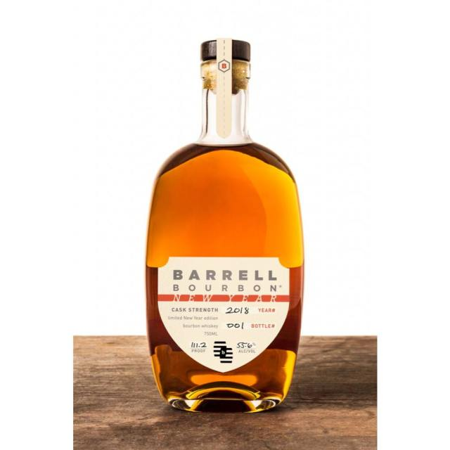 Barrell Bourbon New Year 2018