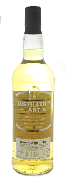 Benrinnes 18 Distillers Art