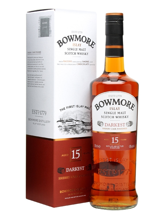 bowmore 15 darkest