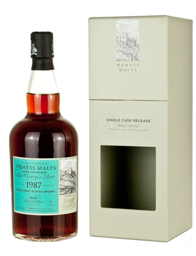 "Bunnahabhain 29-Year 1987 Wemyss Malt ""The Viceroys Elixir"""