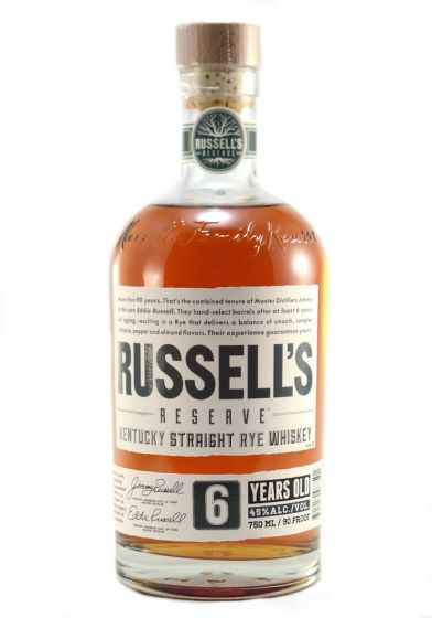 Russell's Reserve  6 Rye