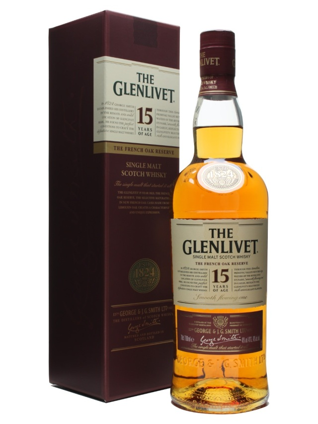 Glenlivet 15 French Oak