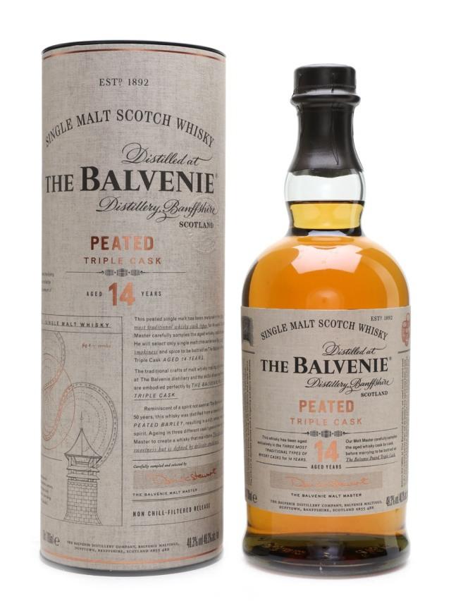 Balvenie 14 Peated Triple