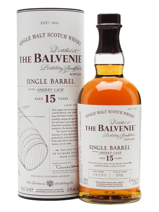 Balvenie 15 SB sherry