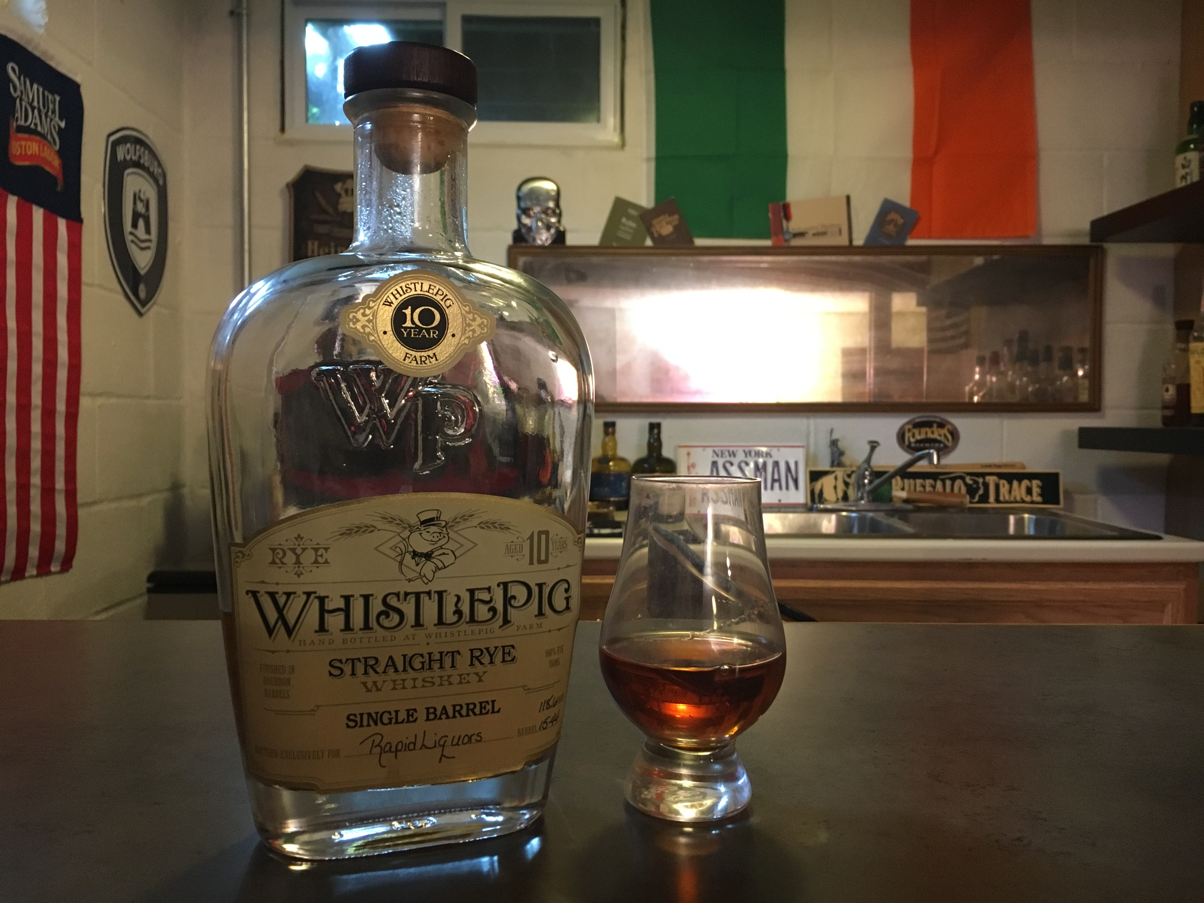 Whistlepig 10 Rapid