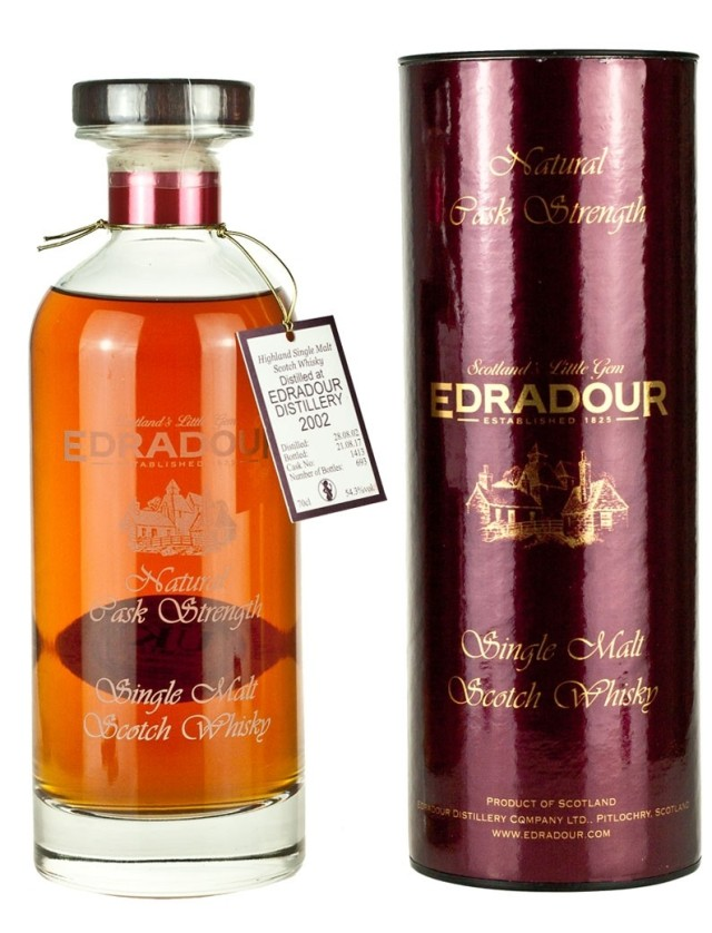 Edradour 14 Year 2002 Ibisco Cask #1413