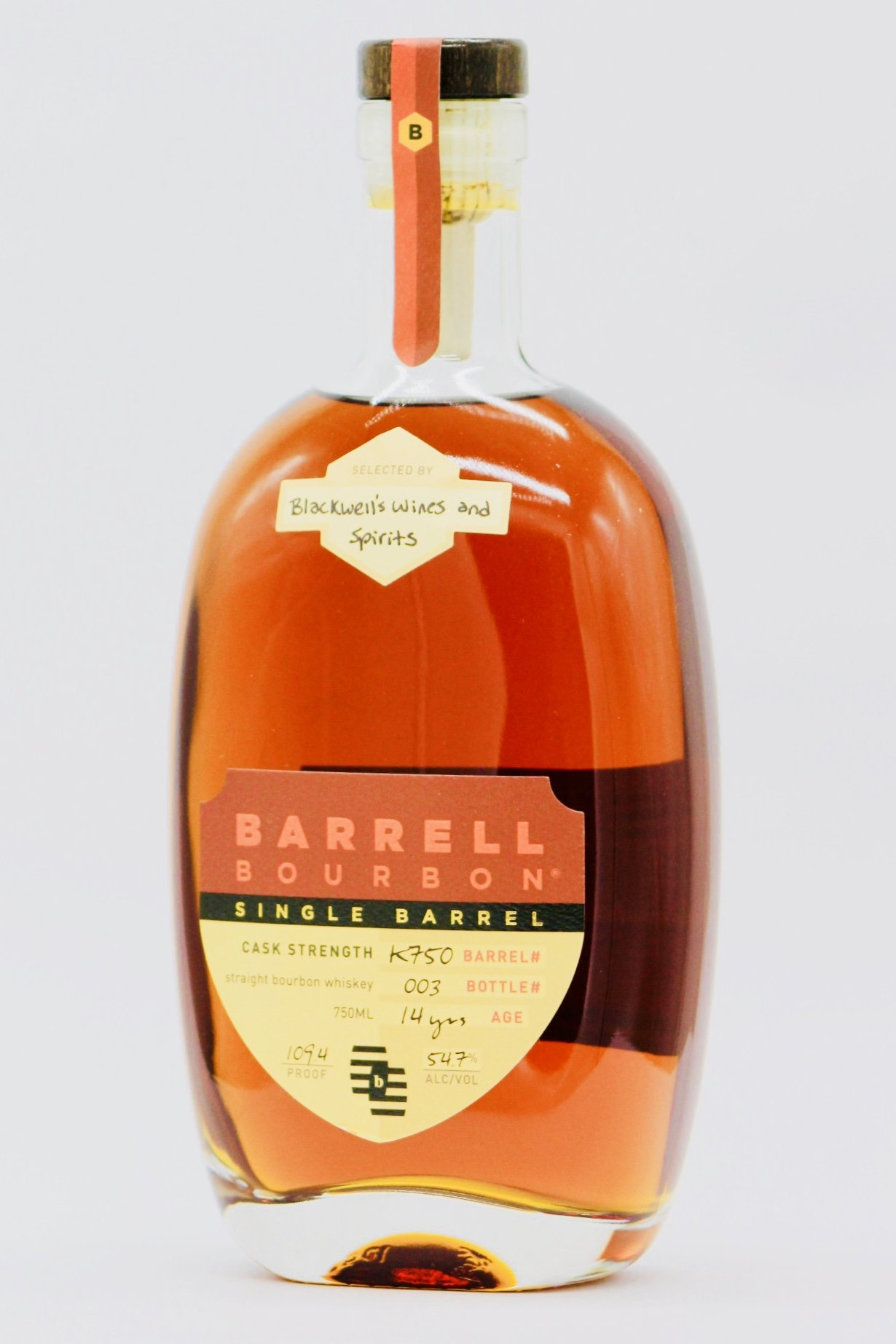 Barrell Bourbon Single Barrel 14 Year