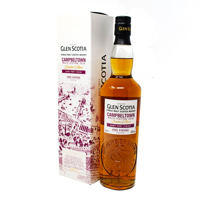 Glen Scotia Ruby Port Finish 10-Year