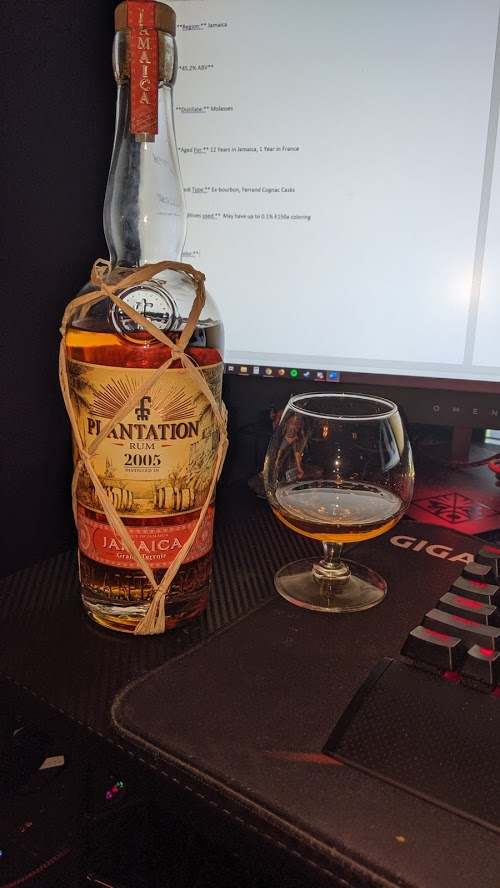 Review: Plantation 2005 Jamaica - Drinking with the Major